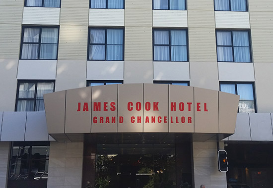 James Cook Grand Chancellor Hotel, Wellington